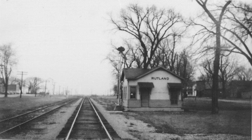 Mendota (IL) United States  City pictures : LOSTANT !CRR DEPOT 1950s